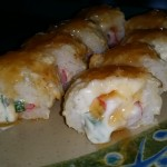Timsan's Crab Rangoon Roll